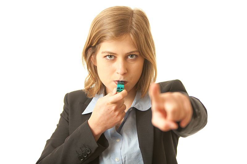 Thinking of blowing the whistle on your employer?